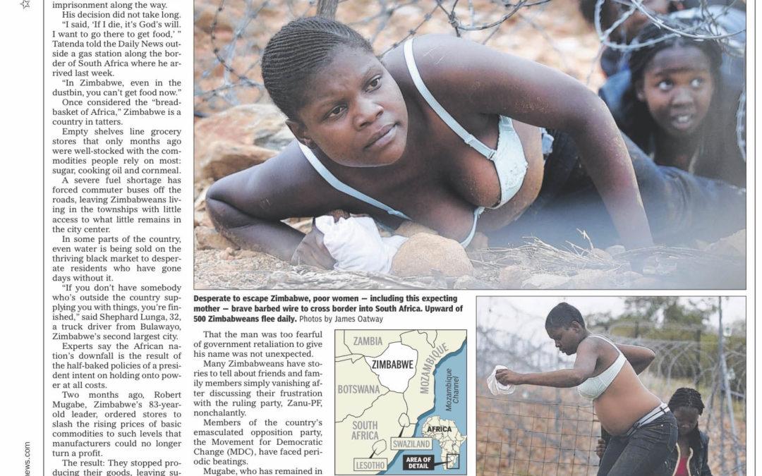 Crumbs all that's left in Africa breadbasket