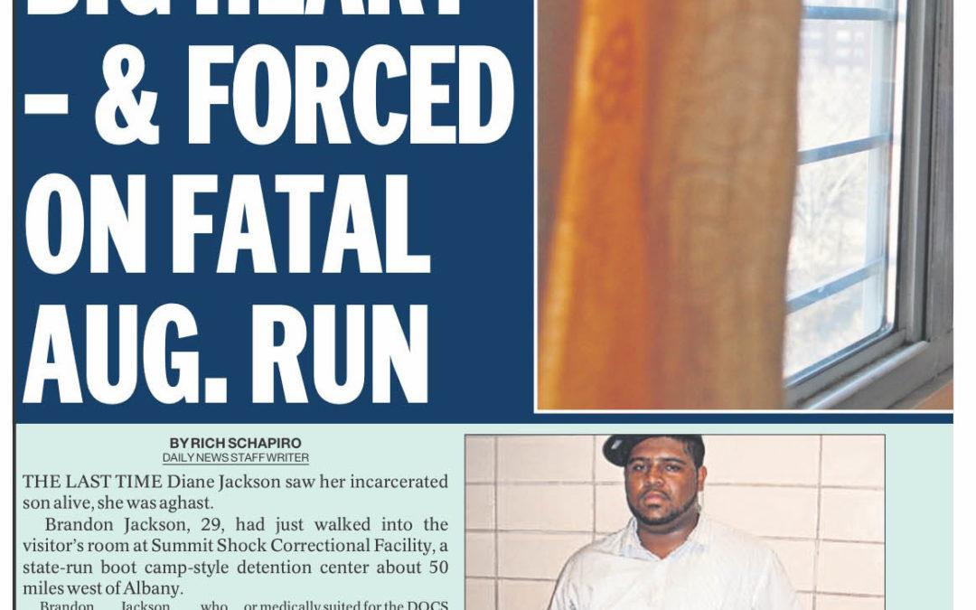 Obesity, Asthma, Big Heart – & Forced on Fatal Aug. Run